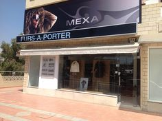 """""""Furs a Porter"""" retail store in Cyprus. (Limassol)."""
