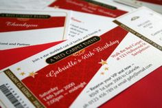 Red carpet invitations from www.partyinvitations.com.au Hollywood Birthday Parties, Hollywood Theme, Hollywood Glamour, Red Carpet Party, Red Carpet Event, Fashion Show Party, Christ The King, Volunteer Appreciation, Party Invitations