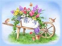 17 Best images about dekopaj (garden) Fabric Painting, Watercolor Paintings, Penny Parker, Decoupage, Spring Art, Spring Time, Fruit Art, Funny Art, Art Pictures