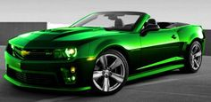 candy green camero <3