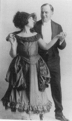 Ethel and Francis Gumm, parents of Judy Garland