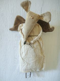 A wee folky Mouse Angel