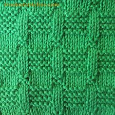 Knit & Purl Stitches-- Rostral Column