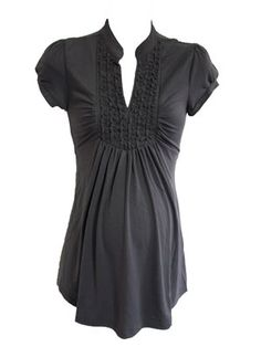The Tuxedo In Slate by Siren Lily Maternity - Maternity Clothing - Flybelly Maternity Clothing $24