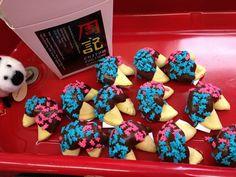 baby shower custom fortune cookies