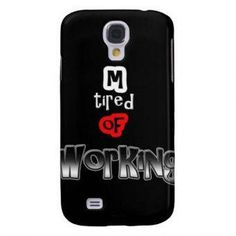Instacase Tired of Working Silicone Case for Samsung Galaxy S4 #onlineshop #onlineshopping #lazadaphilippines #lazada #zaloraphilippines #zalora