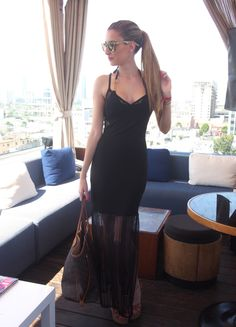 Chilling at the rooftop 24-4-2014  Dress: Asos / Sunnies: Carrera by Jimmy Choo / Sandals: Blanco / Bag: Louis Vuitton