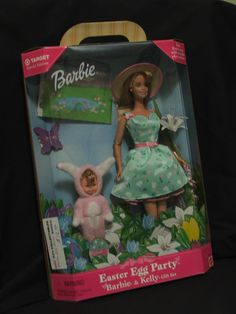 1998 Easter Egg Party Barbie & Kelly Gift Set