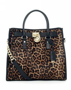 MICHAEL Kors Hamilton Large Calf-hair Tote