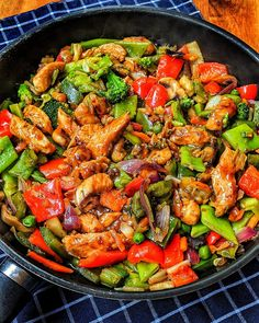 Bunte Asia-Pfanne mit Putenstreifen This delicious Asian vegetable pan with turkey strips is quick and easy to prepare and goes well with rice or noodles. Easy Snacks, Easy Healthy Recipes, Asian Recipes, Healthy Snacks, Snack Recipes, Easy Meals, Dinner Recipes, Cooking Recipes, Ethnic Recipes