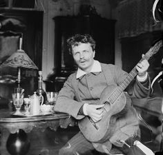 August Strindberg, 1886