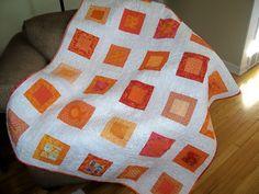 Orange quilt | Flickr - Photo Sharing!