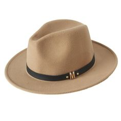 Wool Women's Wide Brim Maison Michel  Fedora  Hat
