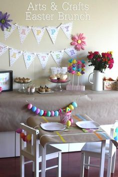Fiesta infantil de Pascua con huevos de colores by Catch My Party