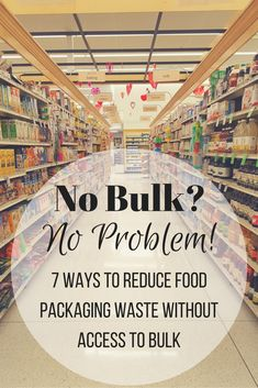 """The most common thing I hear when I talk about how I reduce my shopping waste is """"I don't have bulk options near me, I can't live zero waste."""" A lot of people don't. I…"""