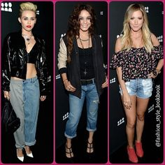 The New My Space Launch#mileycyrus#vanessahudgens#ashleytisdale#lookbook #style #lookbooknu #stylish #instastyle #fashion #fashionista #instafashion #love #ootd #shoes #hair #outfit #myspace #boyfriendjeans #sunglasses #heels #miumiu #topshop #mango #zara #hermes #mint #neon #celebrity #streetstyle #streetfashion... - Celebrity Fashion