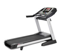 Pro 4500 Treadmill Get the most out of your performance training with the ProForm Pro 4500 Treadmill. Built with a powerful 3.8 CHP Mach Z Commercial Pro Motor, this treadmill will run with you for thousands of miles. The included wireless chest pulse strap will keep you in the right zone for any type of heart rate training. And, with digital speed, incline and decline controls...