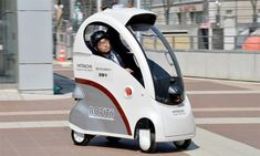 Navigating could become a thing of the past thanks this driverless car for the elderly and disabled from Hitachi.