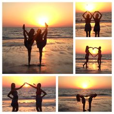 Bestfriend sunset beach pictures......This going to happen in less than a month!! @Hannah Mestel B ??