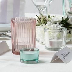 Anna likes to combine tealight holders in different shapes and sizes. In stores now, prices from DKK 3,98 / SEK 5,60 / NOK 5,77 / EUR 0,56 / ISL 98 / GBP 0.47 #tealightholder #tealight #inspiration #sostrenegrene #søstrenegrene #grenehome
