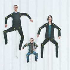 Dancing Family Cut-Outs {Crafts}