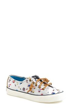 Free shipping and returns on Sperry Top-Sider® 'Seacoast - Gray Malin' Print Sneaker (Women) at Nordstrom.com. A breezy, beach-centric print lends unmistakable whimsy to a low-profile canvas sneaker accented with sleek barrel laces.