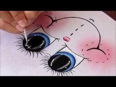 Aprenda a pintar olhinhos de maneira muito fácil! - YouTube