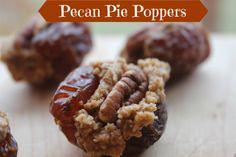 Pecan Pie Poppers