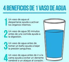 Conoce más beneficios de tomar agua, en: http://www.1001consejos.com/beneficios-de-tomar-agua/