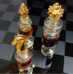 """An unusual """"Mary Chess"""" glass perfume bottle"""