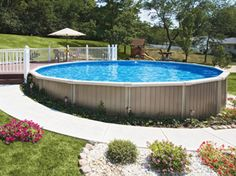 Aqua Leisure Pools and Spas | Above-Ground Swimming Pool | Buster Crabbe - Milano - Above Ground Pool