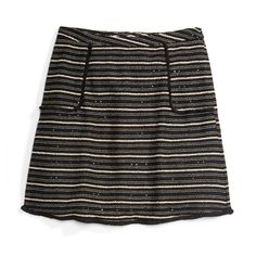 Stitch Fix Monthly Must-Haves: Subtle metallic threading make this A-line skirt perfect for the holidays. Wear it off-season with a T-shirt and moto jacket for a more casual feel.