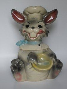 Smiling Rabbit Cookie Jar