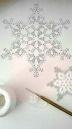 Com Crochet Snowflake Pattern & SkillOfKing.Com The post Crochet Snowflake Pattern & SkillOfKing.Com appeared first on Belle Ouellette. Crochet Snowflake Pattern, Christmas Crochet Patterns, Crochet Stars, Crochet Snowflakes, Holiday Crochet, Thread Crochet, Crochet Motif, Crochet Crafts, Crochet Doilies