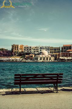 A great place to sit Chania old harbour.