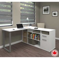 Solay L-Shaped Desk