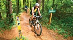 The Santos Trailhead is part of the Cross Florida Greenway Mountain Bike Trails.