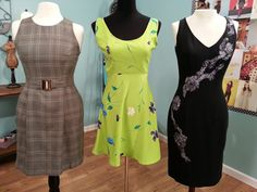 Angela Wolf's LBD lesson choosing fabric and sewing darts on It's Sew Easy @Vicky Lee Moreno Sews @Craftsy @Vogue Fabrics @Angela Gray Gray Wolf