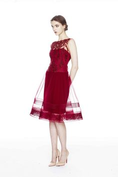 Marchesa | Collections | Marchesa-notte | Pre-Fall 2014 | Collection #14