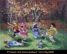 Pauline T. Galerie D'art, Beautiful Artwork, Art Gallery, Painting, Montreal Quebec, Google Search, Children, Vintage, Paintings I Love