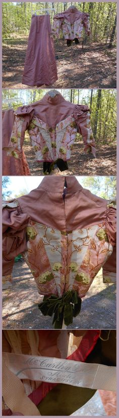 LATE 19TH C WALKING SUIT D MCCARTHY & CO. Ebay:roadworncollectibles
