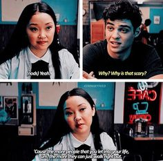 New Memes Relatable 2018 Ideas Lara Jean, Film Quotes, Book Quotes, Movies Showing, Movies And Tv Shows, Jenny Han, Cinema Tv, Roman, New Memes