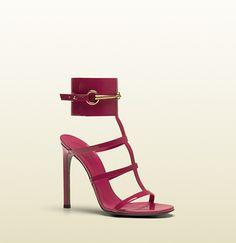 Gucci 2013. sandalo tacco alto ursula con cinturino alla caviglia