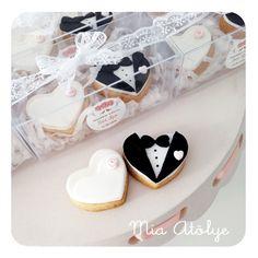 Düğün kurabiyeleri | Mia Atölye