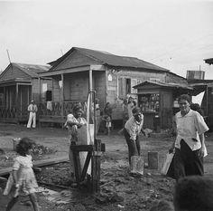 Porta de Tierra,  San Juan, Puerto Rico. Edwin Rosskam of the Farm Security Admin, 1938.