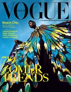 Kinee Diouf Vogue Netherlands July 2013