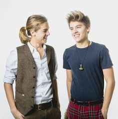 This is Dylan and Cole Sprouse now.