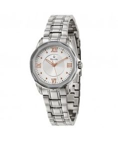 Dress Silver Dial Stainless Steel Ladies Watch 96L172 Bulova Watches, Silver Dress, Stainless Steel, Lady, Dresses, Vestidos, Silver Dress Outfits, Dress, Gown