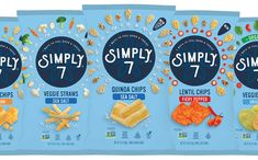 Simply 7 adds two new veggie snacks to line-up - FoodBev Media Veggie Straws, Veggie Snacks, Snack Recipes, Hummus Chips, Australian Food, Food Packaging Design, Article Design, Veggies