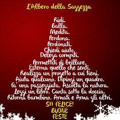 Buon Natale albero di saggezza